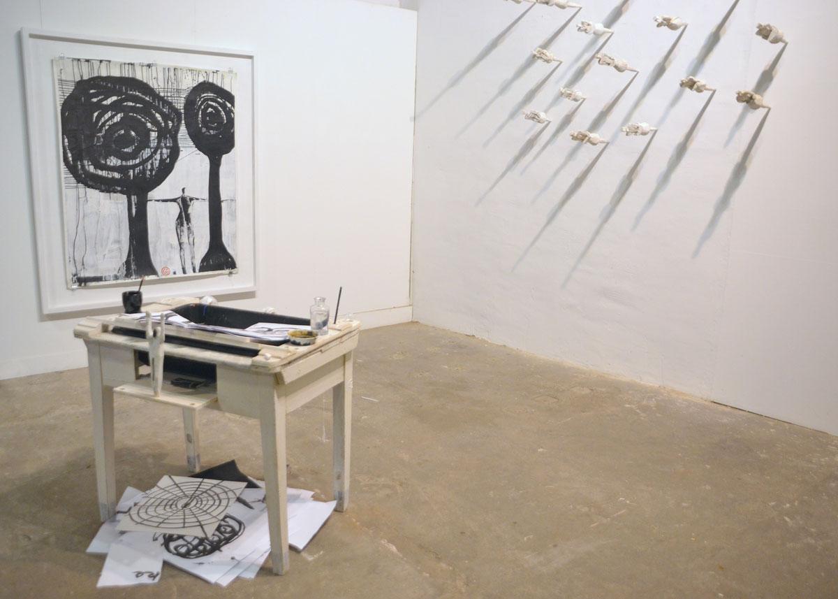 Installation, Künstlerverein Walkmühle2013