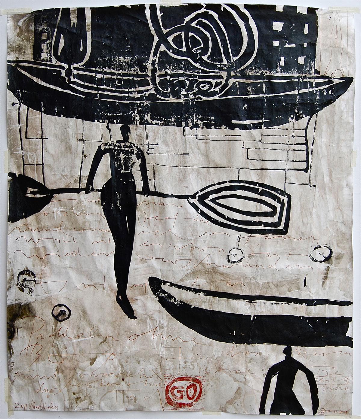 Paddeln ohne Boot, 2011