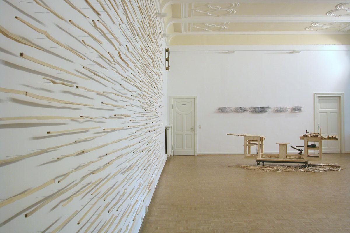 REISEanDENKEN,InstallationBellevue2006