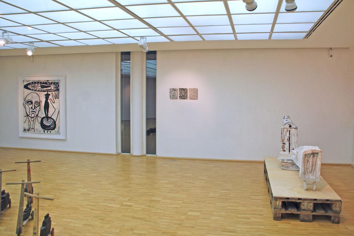 oben, Galerie Tuttlingen2013
