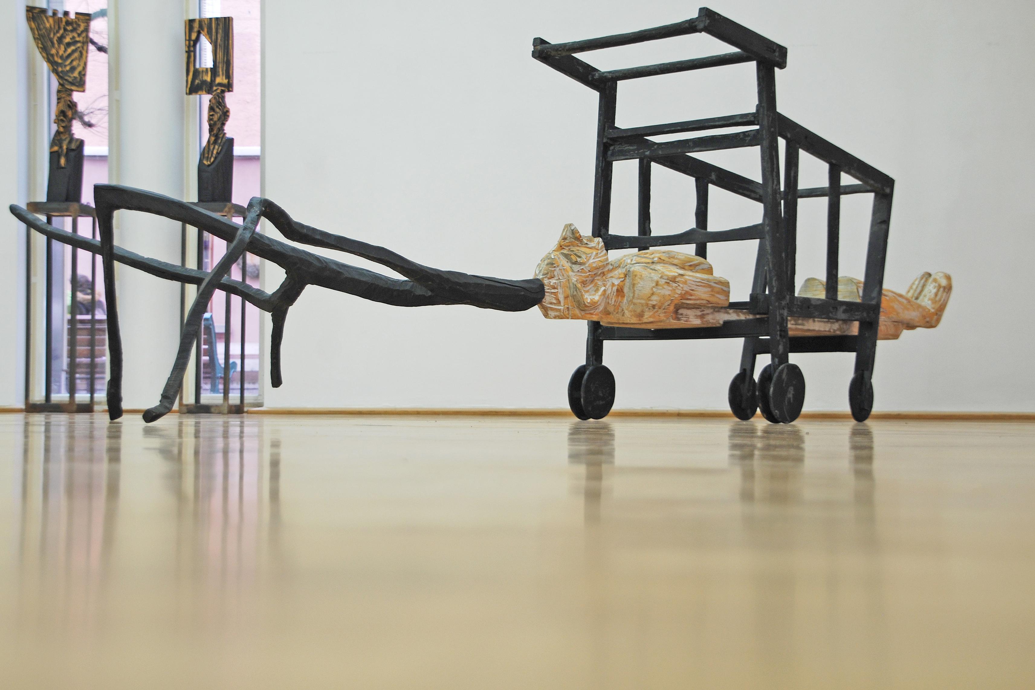 wenn ich die Ede berühre .., Galerie Tuttlingen 2013